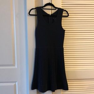 French Connection Navy Knitted Dress